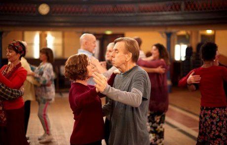 """""""אהבה מריקוד ראשון"""" – סרט גורמה, 9 בסולם אורשר . גידי אורשר."""