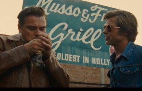 """""""היו זמנים בהוליווד"""" – ילקוט הכזבים של טרנטינו, 7 פלוס בסולם אורשר.    גידי אורשר."""